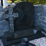 Headstone Granite Celtic Cross