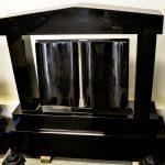 Headstone Black Granite Framed Book