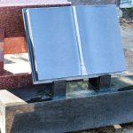 Black Granite Book on Plinth