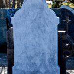 Headstone Grey Limestone Cross