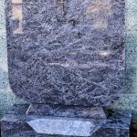 Bahama blue headstone